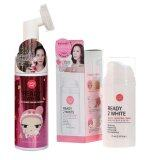 ราคา Karmart 2In1 Bubble Mousse Cleanser 120Ml Cathy Doll Ready 2 White White Boosting Cream 75Ml ใหม่ ถูก