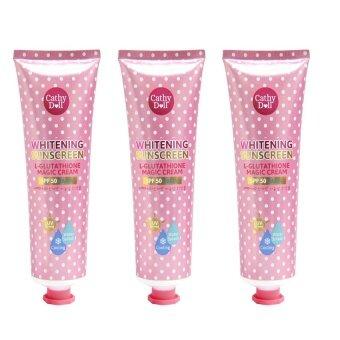 Karmart L-glutathione magic cream SPF 50 PA+++ 138 ml. Cathy doll( 3 หลอด )