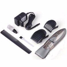ส่วนลด Kemei แบตเตอร์เลี่ยนไร้สาย ปัตตาเลี่ยนไฟฟ้าชนิดกันน้ำได้ แบตตาเลี่ยนเด็ก แบตเตอเลี่ยนตัดแต่งผมชายพร้อมหวีรองปัตตาเลี่ยน 100 Waterproof Rechargeable Electric Hair Clipper For Men Women กรุงเทพมหานคร