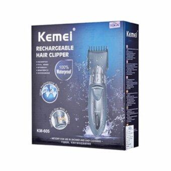 KEMEI บัตตาเลี่ยนตัดแต่งหนวดและทรงผม รุ่น CKL-605 (Grey)