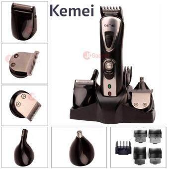 Kemei ชุดปัตตาเลี่ยนไร้สาย พร้อมแทนจัดเก็บ รุ่น KM-1617 ( สีดำ)