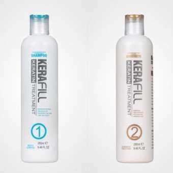 แนะนำ KERAfill Keratin Treatment Purifying Shampoo ( 1 ) ,Kerafill hair straightening products ผลิตภัณฑ์ยืดเส้นผม ผลิตภัณฑ์รักษาเส้นผม keratin ( 2 ) 280ml