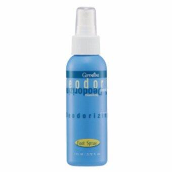 กิฟฟารีน สเปรย์ระงับกลิ่นเท้า(สารสกัดจากพืชธรรมชาติ และ Mentholให้ความเย็นสดชื่น) 110 มิลลิลิตร 1 ขวด