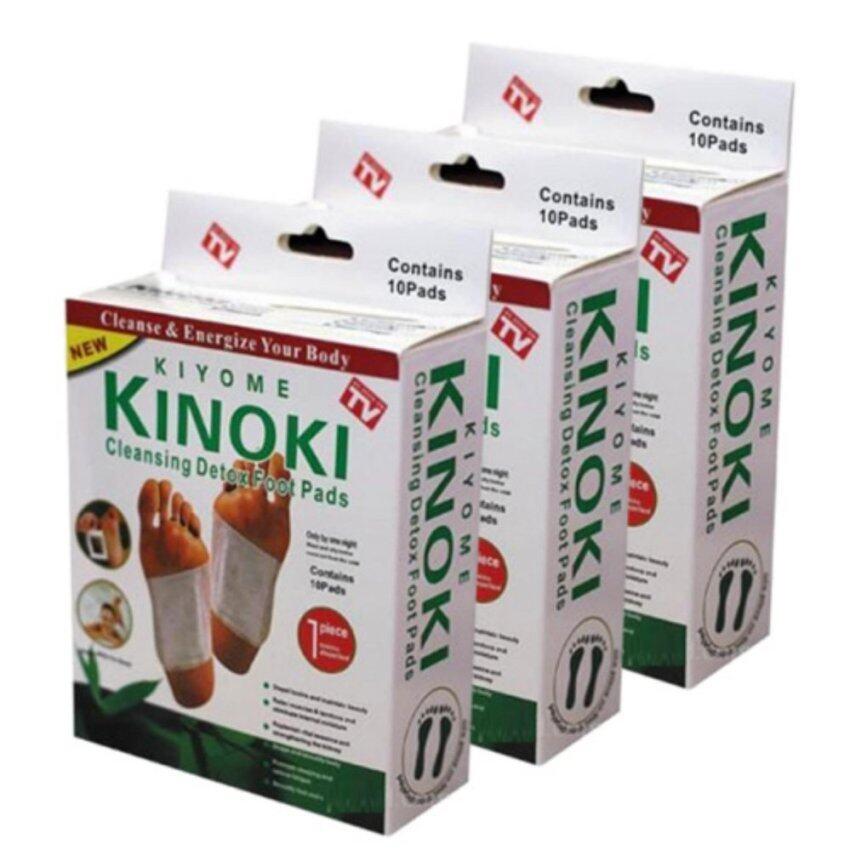 Kinoki Detox Foot Pad แผ่นแปะเท้าดูดสารพิษ ล้างสารพิษ 3 กล่อง image