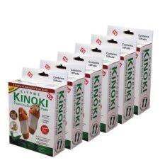 ราคา Kinoki Detox Foot Pad แผ่นแปะเท้าดูดสารพิษ ล้างสารพิษ 6 กล่อง ที่สุด