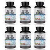 ราคา Pure Med Kitodetox ผลิตภัณฑ์เสริมอาหาร ไคโต ดีทอกซ์ Kito Detox 40 เม็ด 6 ขวด Pure Med ใหม่