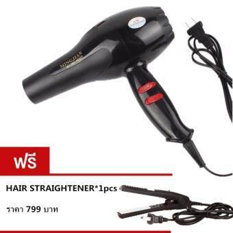 Kitty mama Hair dryer ไดร์เป่าผม เครื่องเป่าผมไฟฟ้า 1600W รุ่น NB-001001 (Black)ฟรีMini Straight Hair NB-01002(Black)