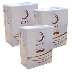 Kms Bird S Nest Soap สบู่รังนก ขวัญมุ่ย ผลิตจากรังนกแท้ ยิ่งใช้ ยิ่งหน้าเด็ก 3 ก้อน 80 กรัม ก้อน ใน กรุงเทพมหานคร
