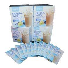 ขาย Kokori Nephra Whey Vanilla Flavour Pack 4 ถูก ใน กรุงเทพมหานคร