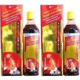 ราคา Korean Ginseng สมุนไพรโสมเกาหลีตังกุยจับ ของแท้ ชนิดน้ำ 700 Ml ตราแปรงสีฟันคู่ ขนาด บรรจุ 700 Cc จัดชุด 2 ขวดแถมพอลลีนา เคดี 1 ขวดใหญ่ เป็นต้นฉบับ