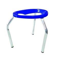 ขาย เก้าอี้สามขานั่งถ่ายพับไม่ได้ ขนาดใหญ่ L สีน้ำเงิน ออนไลน์