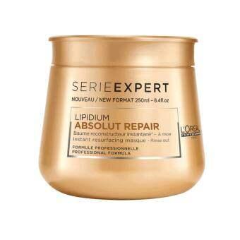 L'Oreal Professionnel Serie Expert Absolut Repair Lipidium Masque 250 ml. ลอรีอัลมาส์กบำรุงเส้นผมแห้งเสียมาก