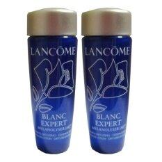 ซื้อ Lancome Blanc Expert Melanolyser Ai Brightness Diffusing Essence In Lotion เอสเซนต์บำรุงผิวในรูปแบบโลชั่นเนื้อบางเบา สูตรลดเลือนจุดด่างดำให้ผิวกระจ่างใส 15 Ml 2 ขวด Lancome เป็นต้นฉบับ