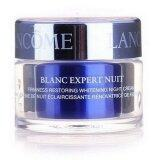 โปรโมชั่น Lancome Blanc Expert Nuit Firmness Restoring Whitening Night Cream 15 Ml ขนาดทดลอง ถูก