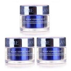 ขาย Lancome Blanc Expert Nuit Firmness Restoring Whitening Night Cream 15 Ml ขนาดทดลอง 3กระปุก ราคาถูกที่สุด