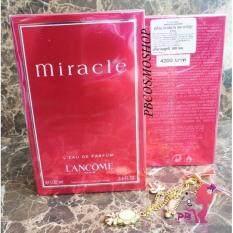 ราคา Lancome Miracle Edp 100 Ml น้ำหอม ลังโคม แท้ 100 ฉลากเคาน์เตอร์ไทย Lancome เป็นต้นฉบับ