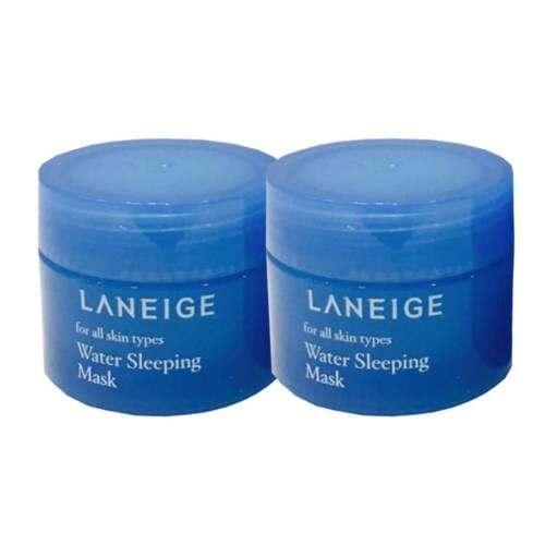 Laneige Water Sleeping Mask สลีปปิ้งมาสก์ผิวสดชื่นเปล่งปลั่ง 15ml (2 กระปุก)