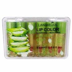 ขาย Lanmeijia Lip Color Studio Mini Magic Lipgloss Aloe Vera 99 แพค 6 แท่ง Lanmeijia ถูก