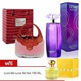 ราคา Laurelle London Rouge 100Ml Desire 100Ml แถมฟรี Love Me Love Me Not 100Ml ที่สุด