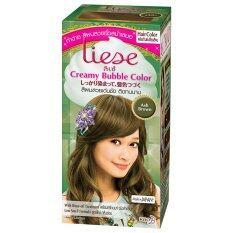 ทบทวน Liese โฟมเปลี่ยนสีผม Ash Brown Liese