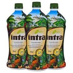 Lifestyles Intra อินทรา น้ำผลไม้เพื่อสุขภาพ 3 ขวด ถูก