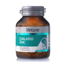 โปรโมชั่น Lifetune Chelated Zinc ไลฟทูน คีเลต ซิงค์ 15มก 90 เม็ด ถูก