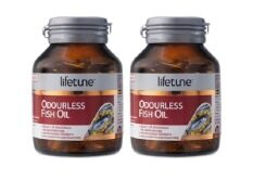 ราคา Lifetune Odourless Fish Oil 45 Capsule 2 กล่อง Lifetune