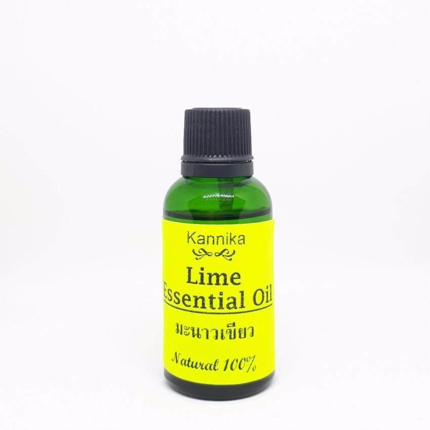 น้ำมันหอมระเหยมะนาวเขียว - Lime Essential Oil 30 ml.