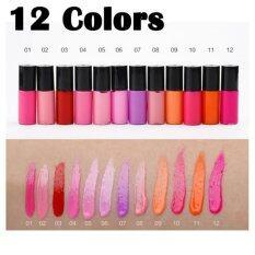 ขาย ซื้อ ออนไลน์ Liquid Lip Gloss Set 12 สี ลิปกลอส สีลูกกวาด 12 สี