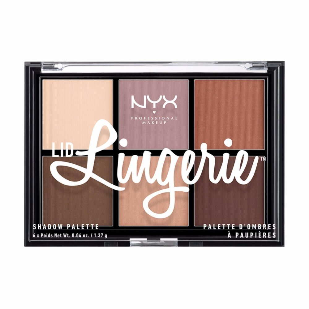 นิกซ์ โปรเฟสชั่นแนล เมคอัพ ลิด ลองเจอเร แชโดว์ พาเลท - LLSP01 อายแชโดว์ NYX Professional Makeup Lid Lingerie Shadow Palette - LLSP01 eyeshadow ( เครื่องสำอาง _ อายแชโดว์ _ อายแชโดว์ พาเลท )