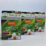 ซื้อ โลแลนแชมพูปิดผมขาว Lolane Nature Code N6 สีน้ำตาลประกายทอง 3 กล่อง ฟรีถุงมือ ใหม่