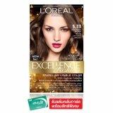 ขาย ซื้อ ออนไลน์ L Oreal Paris เอ็กซ์เซลเล้นซ์ แฟชั่น ครีมเปลี่ยนสีผม 5 13 สีน้ำตาลประกายหม่นเหลือบทอง