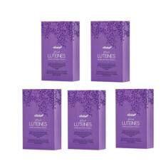 Luteines อาหารเสริมวิตามินบำรุงสายตาป้องกันจอประสาทตาเสื่อม ด้วยสารสกัดหลัก Lutein Zeaxanthin 30 แคปซูล/กล่อง ( 5 กล่อง) By Beautyexpress.