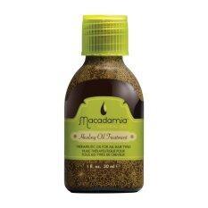 ขาย Macadamia Natural Oil Treatment 30Ml Green Macadamia Natural Oil ถูก