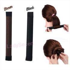 ขาย Magic Hair Bun Maker อุปกรณ์ม้วนผม เกล้าผม แพ๊ค 2 ชิ้น ดำ น้ำตาล กรุงเทพมหานคร