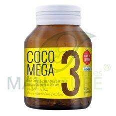 ราคา Mannature Cocomega3 น้ำมันสกัดเย็นผสมน้ำมันงาขี้ม่อน 500 Mg Mannature