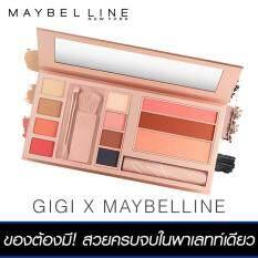 ทบทวน เมย์เบลลีน นิวยอร์ก จีจี้ ฮาดิด เจ็ทเซ็ทเตอร์ พาเลทท์ Maybelline Newyork Gigi Hadid Jetsetter Palette Maybelline