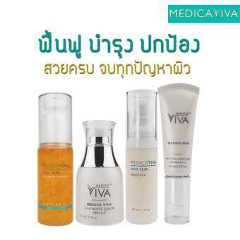 Medica VIVA SET (Serum + Booster + SunScreen + Essence)