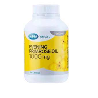 Mega We Care Evening Primrose Oil EPO 1000mg 100เม็ด