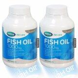 ซื้อ Mega We Care Fish Oil 1000Mg 100เม็ด 2ขวด น้ำมันปลา 1000มก Mega We Care