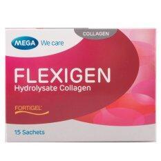 ซื้อ Mega We Care Flexigen 10 000Mg 10 กรัม 1X15 ซอง ใหม่ล่าสุด