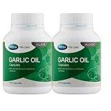 ราคา Mega We Care Garlic Oil น้ำมันกระเทียม ลดโคเลสเตอรอล 100 แคปซูล X2 ขวด Mega We Care ออนไลน์