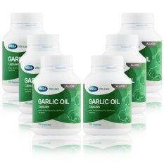 ราคา Mega We Care Garlic Oil 100เม็ด X 6กระปุก น้ำมันกระเทียม ใน กรุงเทพมหานคร
