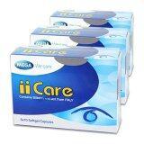 ขาย Mega We Care Iicare บำรุงสายตา ลดอาการเมื่อยล้ากล้ามเนื้อตา 30 แคปซูล X 3 กล่อง