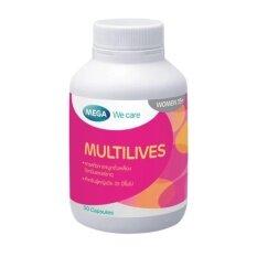 ขาย Mega We Care วิตามินรวมสำหรับหญิงวัยทอง Multilives ออนไลน์