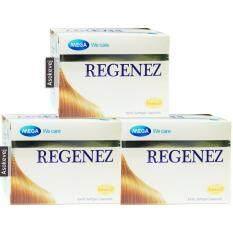 Mega We Care Regenez (3กล่อง) สำหรับผู้มีปัญหาผมร่วง 30 แคปซูล By Asokevej.