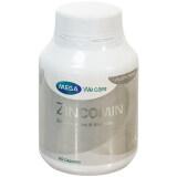 ขาย Mega We Care Zincomin แร่ธาตุสังกะสี 60 เม็ด ราคาถูกที่สุด