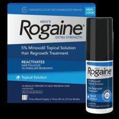 ซื้อ Men S Rogaine® ยาปลูกผมสำหรับผู้ชายชนิดน้ำ Minoxidil 5 กล่อง 3 ขวด ใน กรุงเทพมหานคร
