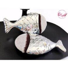 ซื้อ แปรงแต่งหน้า เกรดพรีเมียม แปรงปลา เกลี่ยง่าย ขนนุ่มมาก Mermaid Brush 1ชิ้น มี Video สินค้าจริง ออนไลน์ ถูก