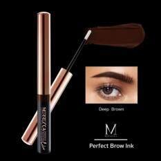 ราคา Merrez Ca Perfect Brow Ink เจลคิ้ว เจลดินสอเขียนคิ้ว เจลเขียนคิ้วในรูปแบบน้ำ สีน้ำตาลเข้ม Merrez Ca เป็นต้นฉบับ